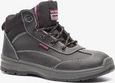 Safety Jogger Bestlady leren dames werkschoenen S3 - Zwart - Maat 38