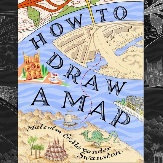 Boek cover How to Draw a Map van Malcolm Swanston (Onbekend)