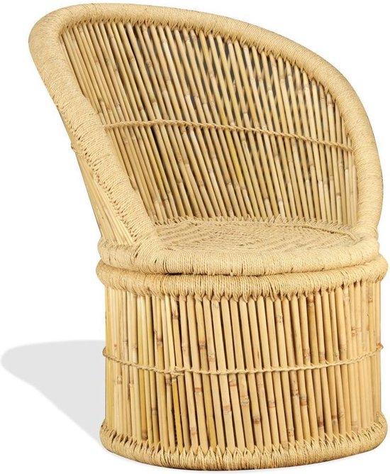 Bamboo Bankje Handgemaakt - Bamboo stoel