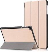 Flip Case voor Samsung Galaxy Tab A 10 1 (2019) - Tablet Hoesje – Goud