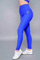 High Waist Leggings - Horizon Blue - Performance Gear - Maat - Large
