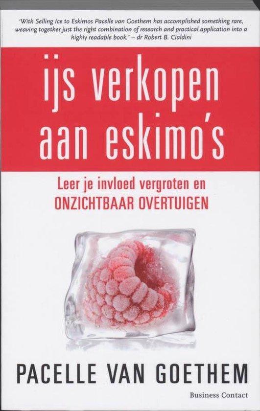 Cover van het boek 'IJs verkopen aan Eskimo's' van Pacelle van Goethem