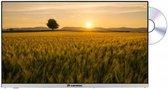 Caratec 12/24 volt TV voor campers, caravans en vrachtwagen - Exclusive series - 22 inch groothoek TV - DVB-S2, DVB-T2