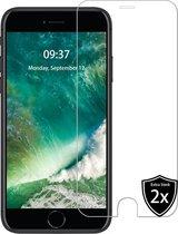 iPhone 6/6s/7/8/SE 2020 screenprotector - 2 stuks - ultra sterk - iPhone 7/8 Screen protector - iPhone 6/6S - iPhone SE 2020 screenprotector - glas - Apple - beschermglas