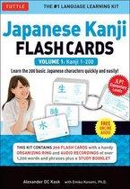Japanese Kanji Flash Cards Kit Volume 1