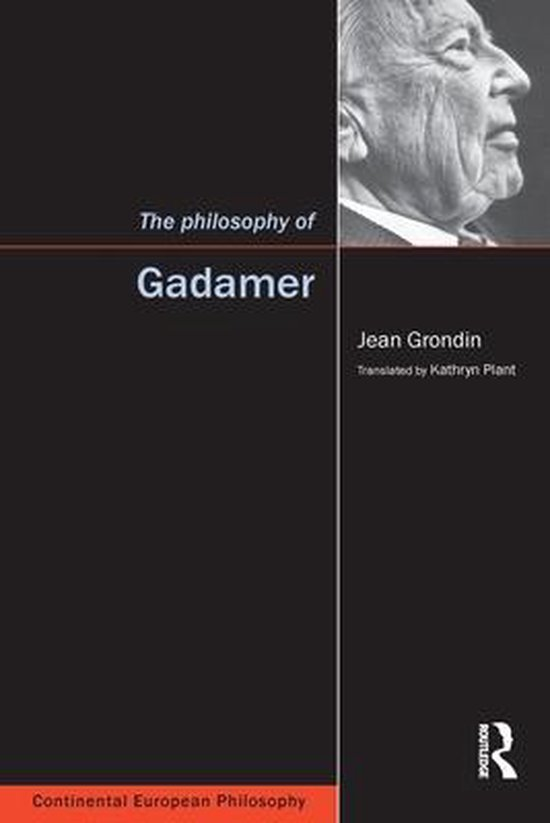 Boek cover The Philosophy of Gadamer van Jean Grondin (Paperback)