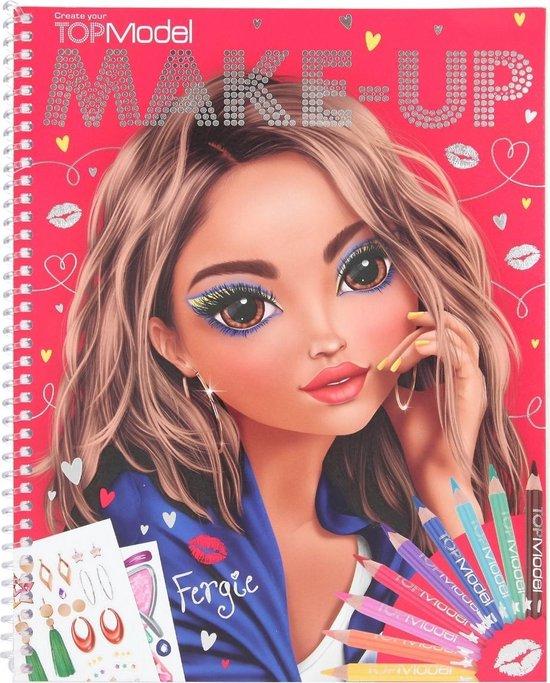 Afbeelding van Top Model - Make-Up Design Book (0410728 ) speelgoed