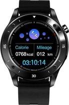 DrPhone Puresport-X3 - Metalen Smartwatch - Stappenteller - Notificaties - Stopwatch - Voor Apple iPhone IOS / Samsung