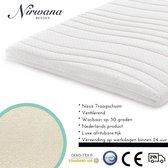 Nirwana Bedden - Topdekmatras - 140x200 - Nasa Traagschuim - 12CM