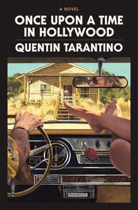 Boek cover Once Upon a Time in Hollywood van Quentin Tarantino (Hardcover)
