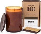 KOBO Geurkaars Woodblock Hashish 425 g