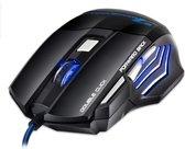 Game muis met draad   RGB   DPI 1200-7200   ZDR-XG90 (Gaming muis) - Zwart