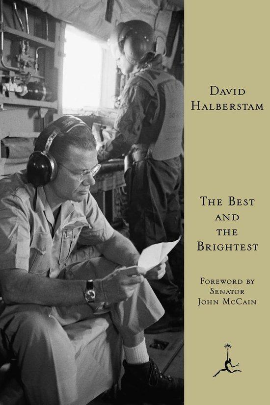 Boek cover The Best and the Brightest van David Halberstam (Paperback)