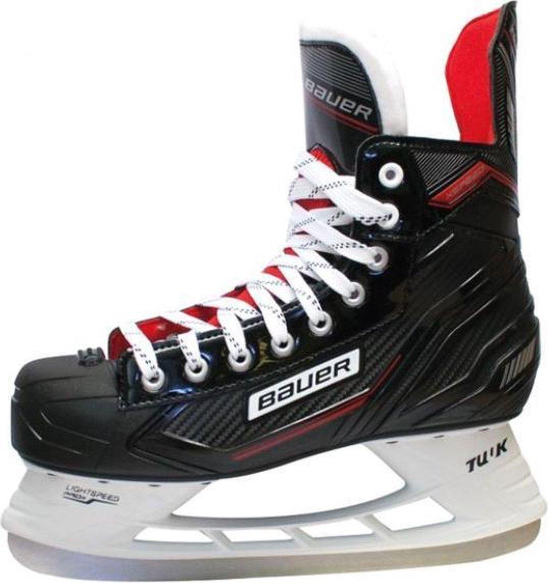 Bauer X Speed ijshockeyschaatsen - Maat 40.5 - Zwart