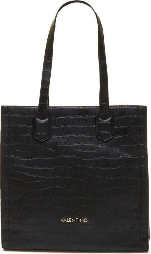 Valentino Bags Juniper Dames Handtas - Zwart/Rood