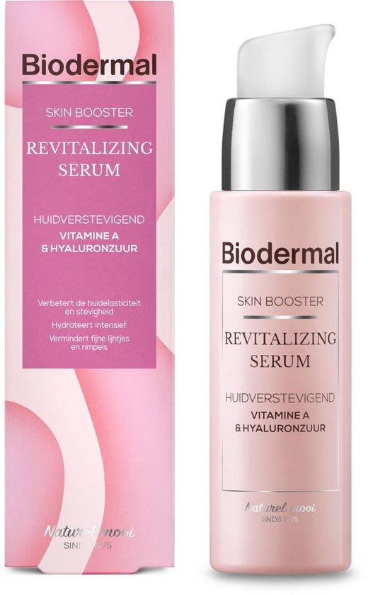 Biodermal Skin Booster Revitalizing serum – Verbetert zo de huidelasticiteit en stevigheid met hyaluronzuur en Vitamine A - Hyaluronzuur serum 30ml