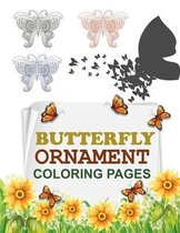 Butterfly Ornament Coloring Pages