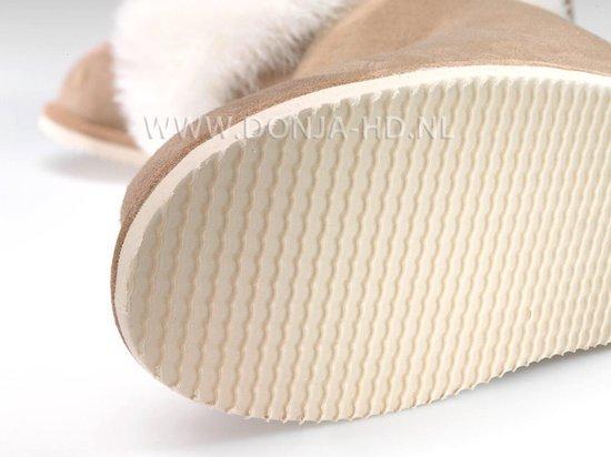 Donja HD lamsvacht pantoffels met oplopende zool maat 41 model Karlskrona