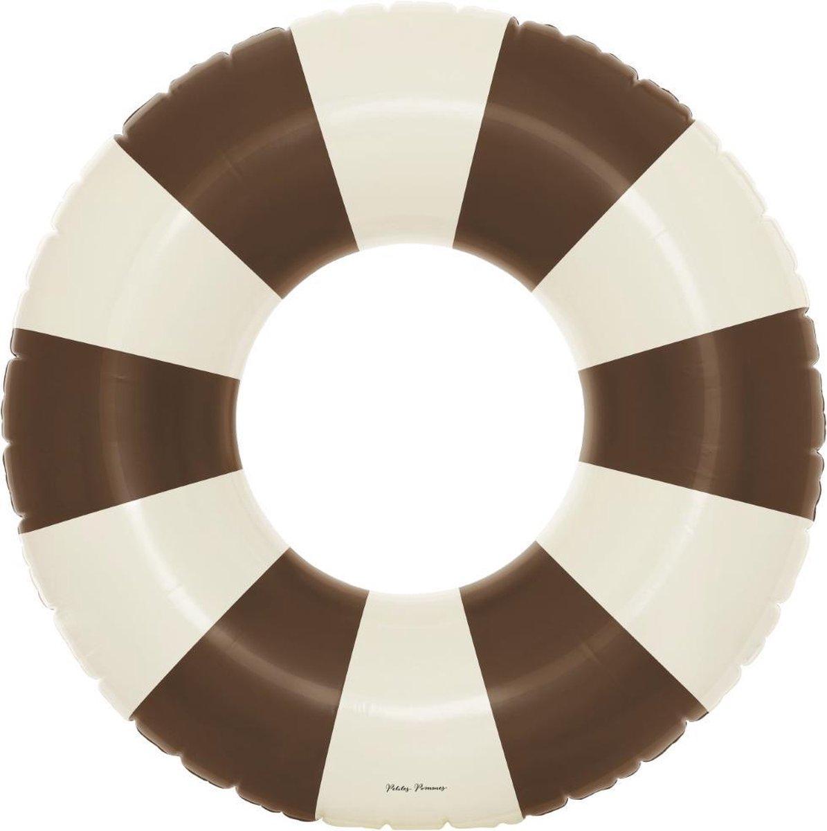 Petites Pommes Zwemring Celine Grand Float Charleston Tan - Zwemband - ø 120cm - 6+ jaar