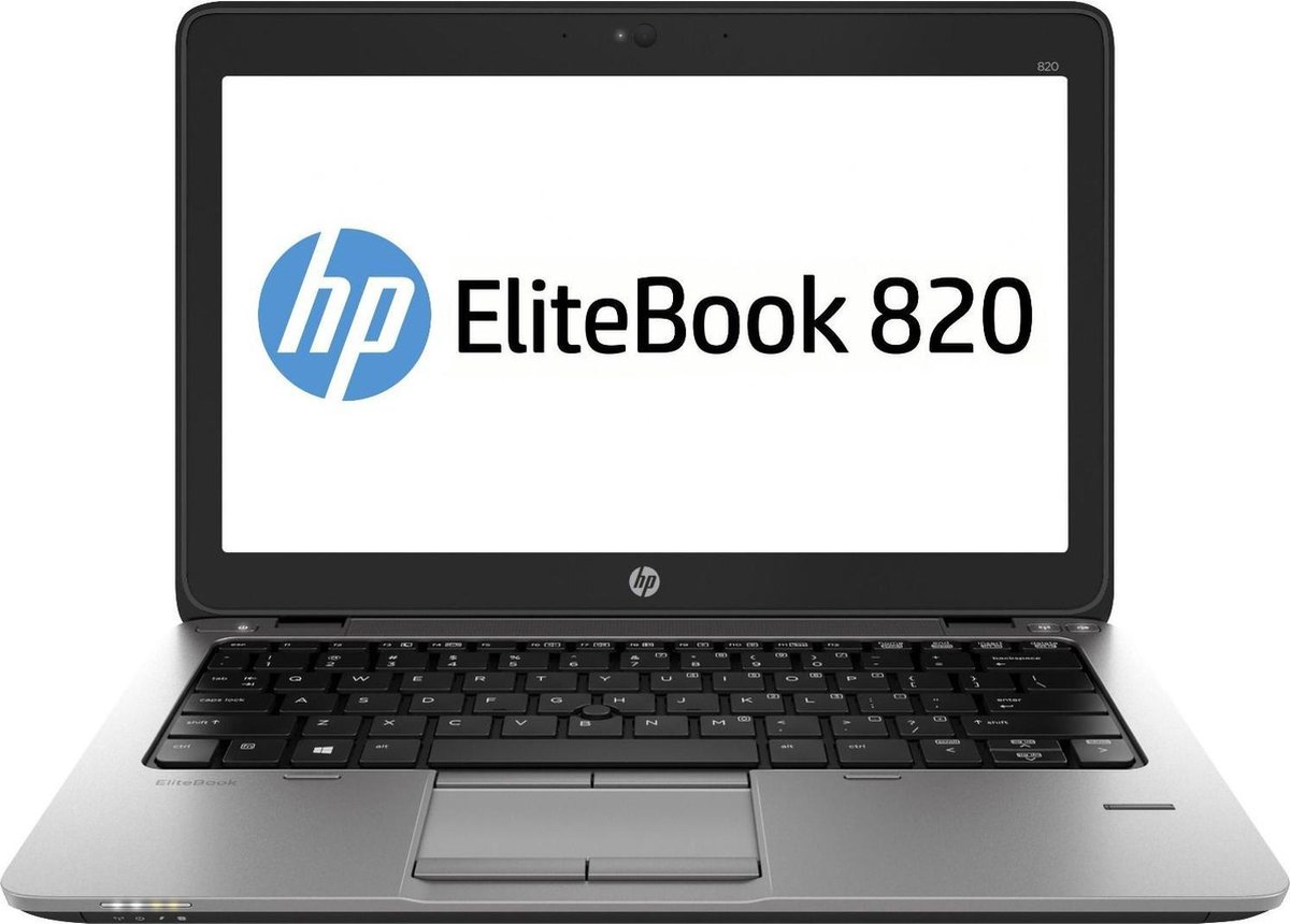 HP Elitebook 820 G3 Refurbished - 12,5 inch Full HD - Intel Core i5-6200U - 8GB - 256GB-SSD - Windows 10