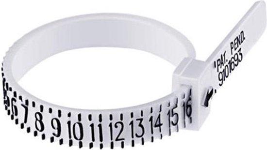 Ring Sizer - Officiële Vinger Meetgereedschap - Meten A-Z Sieraden - Accessoire