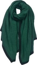 Juleeze Sjaal Dames Effen 90*180 cm Groen Synthetisch Shawl Dames