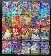 Pokemon Trading Kaart | Pokemon TCG Cards  58V + 42VMAX Cards | 100 Stuks