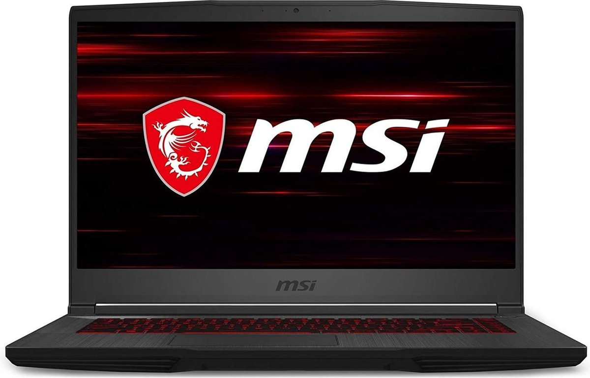 MSI | GF65 Thin 10SDR-458 Gaming | Core i7-10750H | 16GB Memory | 1000 GB SSD | NVIDIA GeForce GTX 1660 Ti videokaart | 15.6 inch scherm
