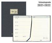 Brepols Schoolagenda 2021-2022 - Week Notes - Essenz  - Antraciet - 14,8 x 21 cm