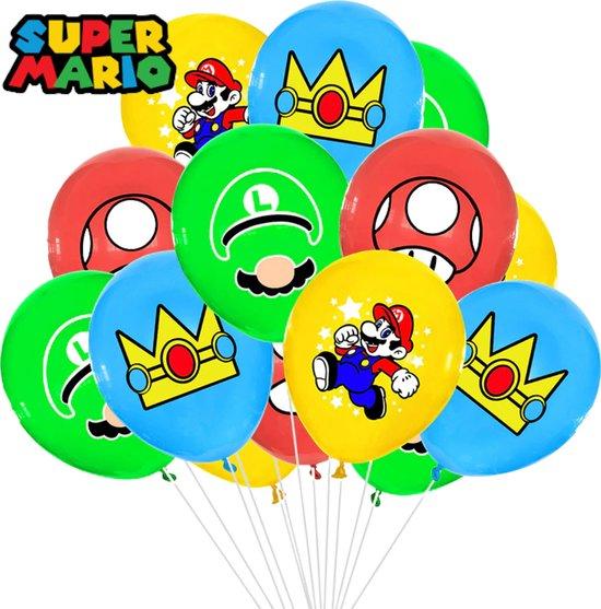 Super Mario Ballonnen - 10 Stuks - Mario Ballonnen - Super Mario - Mario - Mario Kart - Mario Party - Luigi - Mario Party Switch - Mario 3D World - Mario Bros