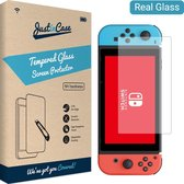 Nintendo Switch OLED screenprotector - Gehard glas - Just in Case