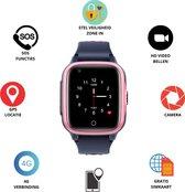 GPS Horloge 4 YOU - GPS Horloge kind - GPS Tracker - Smartwatch voor kinderen - Kinderhorloge - Gratis simkaart en Gratis app - SOS Knop - 4G verbinding- Waterdicht - Live GPS Locatie - HD (Video)bellen - Veiligheidzone instellen - Camera - Roze 15