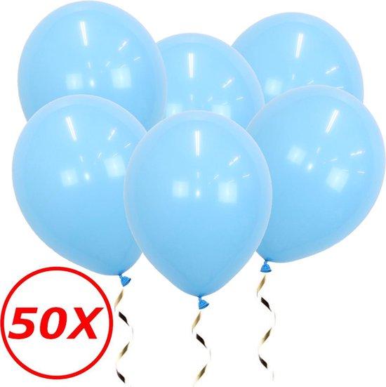 Lichtblauwe Ballonnen Gender Reveal Babyshower Versiering Verjaardag Versiering Blauwe Helium Ballonnen Feest Versiering 50 Stuks