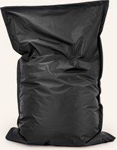 Drop & sit zitzak - Zwart - 100 x 150 cm - binnen en buiten
