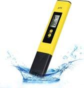 LUSQ - Digitale pH meter Incl. Kalibratie, Batterijen en NL Gebruiksaanwijzing - Voor zwembad, aquarium, grond