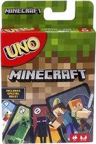 Mattel Games UNO Minecraft - Kaartspel