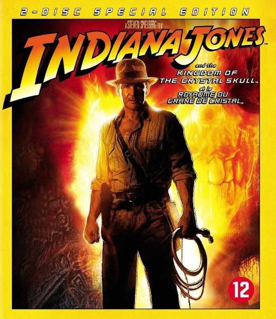 Cover van de film 'Indiana Jones - Kingdom Of The Crystal Skull'