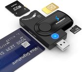 DynaBright - Eid Card Reader USB - België  - Identiteitskaartlezer - USB - EID Kaartlezer Identiteitskaart - Card Reader