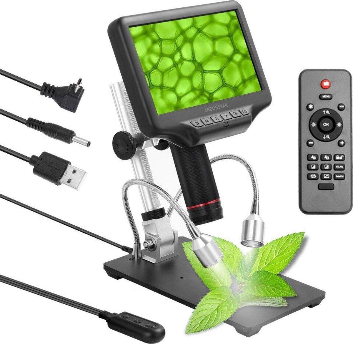 Dakta® Digitale Microscoop | 7 Inch LCD-scherm | 270x vergroting | 1080P | 3D