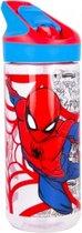 Spiderman Urban Web Tritan drinkfles - 620 ml - Multi