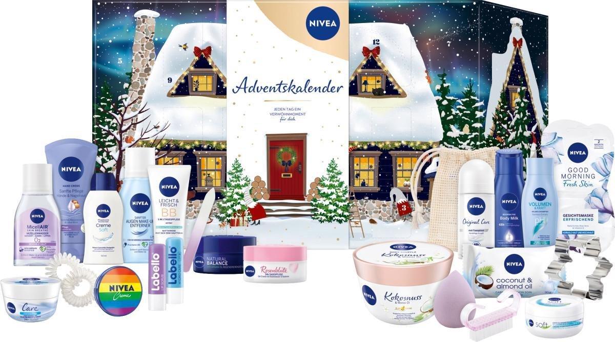 NIVEA Adventskalender 2021 - Huis in de sneeuw