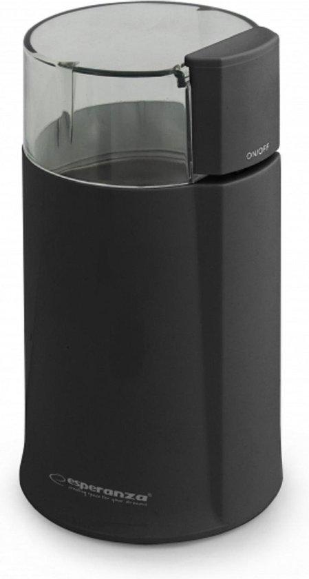 Esperanza ECK001K Bonenmaler - Elektrische Koffiemolen/Koffiemaler - Koffie Grinder - Werkt ook voor Kruiden en Specerijen - 160 W