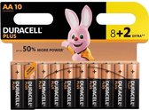Duracell Plus Power AA - Batterij - 10 stuks
