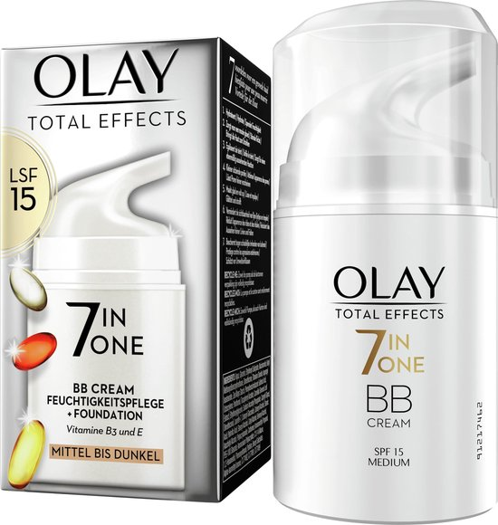 Olay Total Effects 7in1 BB Crème - Medium Tot Donker - SPF15 - 50ml