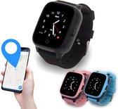 KUUS. W2 - 4G GPS horloge kind, smartwatch voor kinderen met GPS tracker - Walkie Talkie functie - Zwart