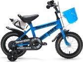 """Generation BMX fiets 12"""" Blauw - Kinderfiets"""