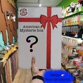 Mystery snackbox S - Amerikaans Snoep - Mysterie box - Snoep box - American Candy - Amerikaans snoep pakket - Amerikaans eten - Usa snoep - Amerikaans snoep box - Amerikaanse snacks - chocolade - 8 delig pakket