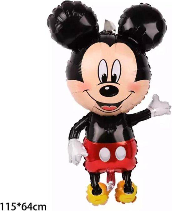 Disney 115 Cm Giant Mickey Mouse Ballon Cartoon Birthday Party Folie Ballon Kinderen Birthday Party Decoraties Kids Gift