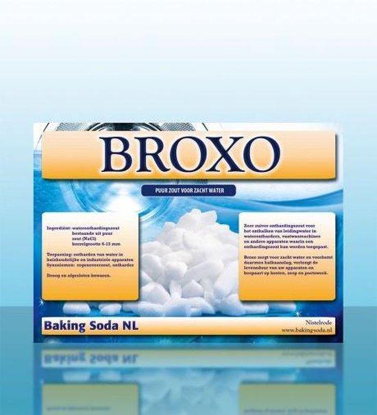 Broxo zout - onthardingszout korrels 6-15 - vaatwasser waterontharder - 99,9% regeneratiezout -10 KG