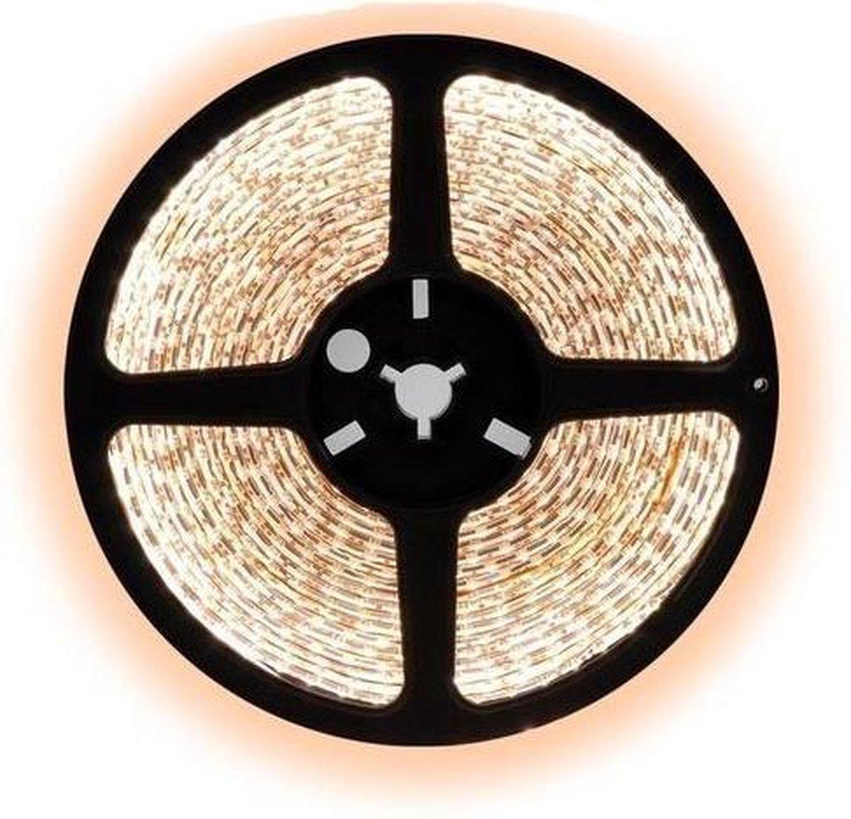 1 meter warm wit led strip - 120Leds/m - 2835 - 12V